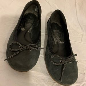 Timberland Ellsworth sz 7 ballet flats nubuck grey